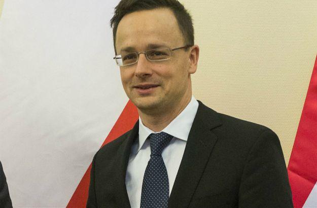 Minister spraw zagranicznych Węgier Peter Szijjarto