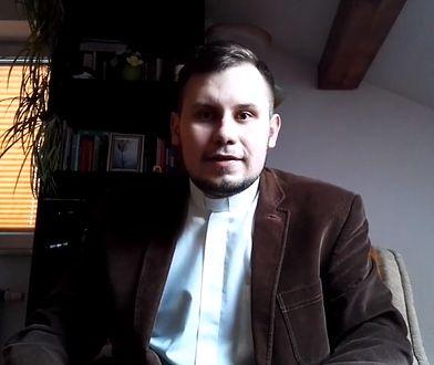Ks. Łukasz Kachnowicz znany był także z nagrań umieszczanych na YouTube