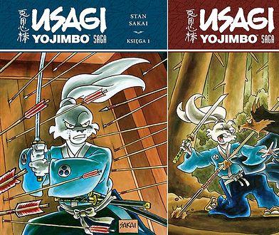 Usagi Yojimbo. Saga tom 1 i 2, Egmont 2019