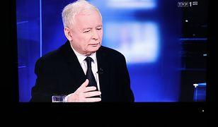 """Jarosław Kaczyński najdłużej występującym politykiem w """"Wiadomościach"""" TVP"""