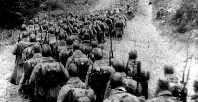 Kolumna Armii Czerwonej na terytorium Polski, wrzesień 1939 r.