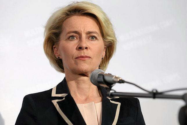 Minister obrony Niemiec Ursula von der Layen