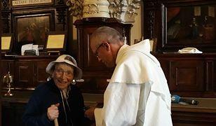95-letnia pątniczka z Włoch dotarła na Jasną Górę