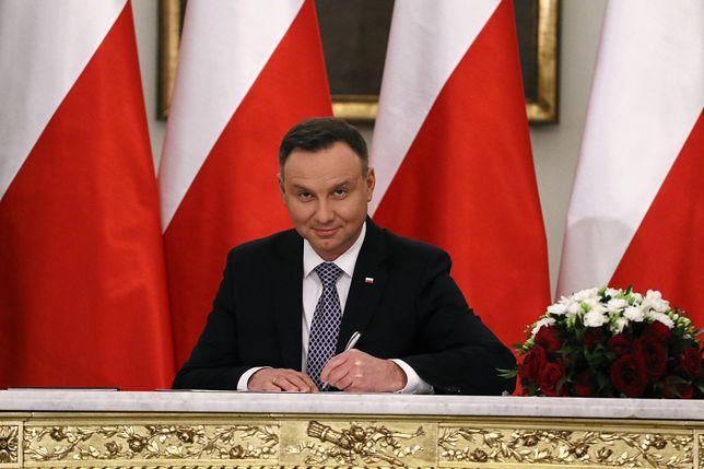 Andrzej Duda najpierw zawetował dwie ustawy