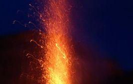 Wulkan Stromboli - wyspa z ognia