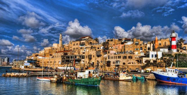 Tel Awiw - białe miasto Izraela