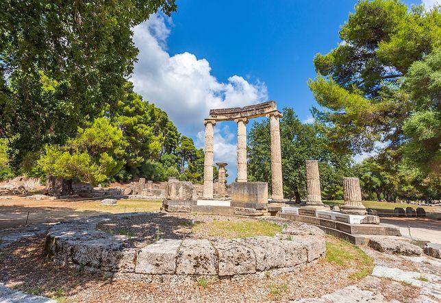 Atrakcje Grecji - Olimpia, Peloponez