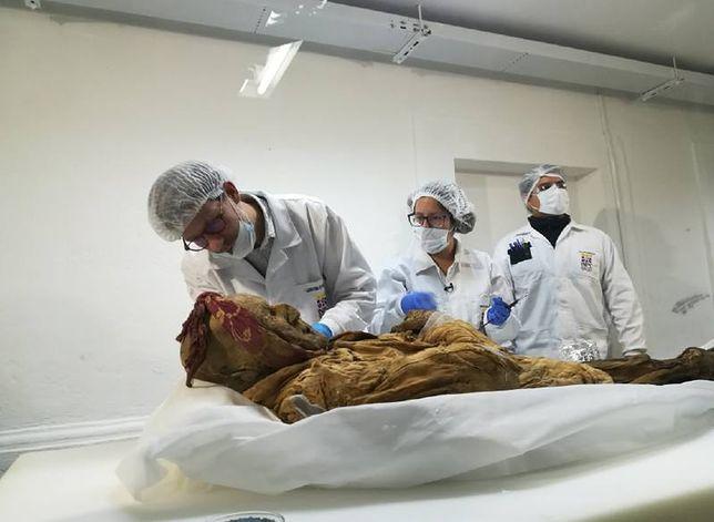 Naukowcy rozpoczęli badania mumii