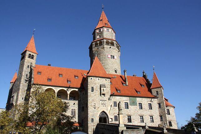 Atrakcje Czech - zamek Bouzov, Morawy