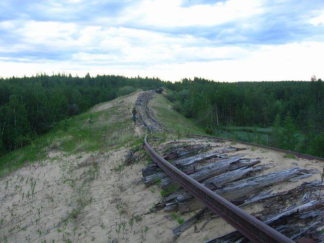 Droga Umarłych - w poszukiwaniu kolei widma