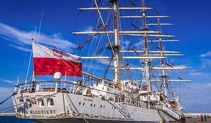 Żaglowiec odwiedzi ponad 20 portów w kilkunastu państwach świata