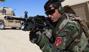 Żołnierz afgańskiej armii w Ghazni