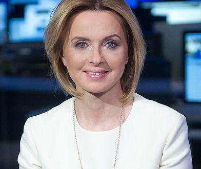 Jolanta Pieńkowska na wizji.