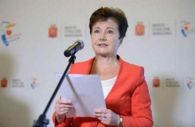 """Hanna Gronkiewicz-Waltz: """"w stanie wojennym też takie barierki stały"""""""