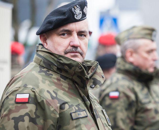 Generał Wojska Polskiego Jarosław Mika