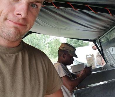 Bartek jest amerykańskim żołnierzem na niepełny etat