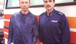 """Marcin Doroci}ski i Rafa Mohr na planie filmu """"Pitbull. Ostatni pies"""""""
