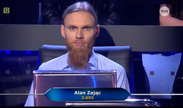 Drugim uczestnikiem został Alan Zając