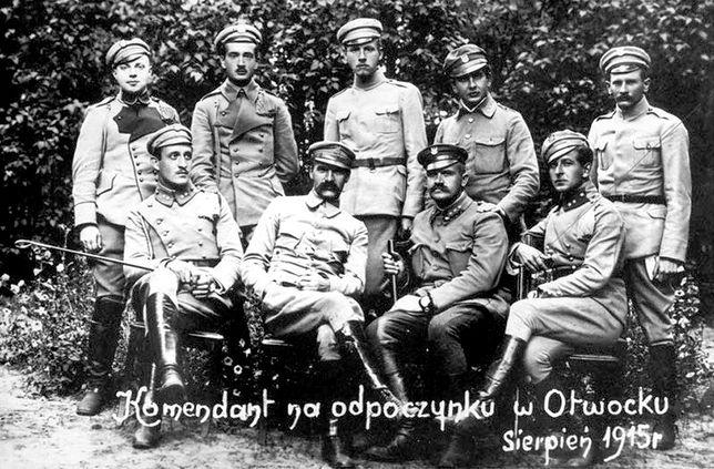 Józef Piłsudski w 1915 r.