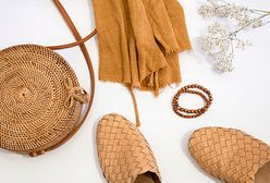 Plecione torebki, kapelusze i buty. Idealne dodatki do letnich stylizacji