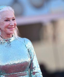 76-letnia Helen Mirren w cekinowej sukni. Aktorka zachwyciła na festiwalu w Wenecji