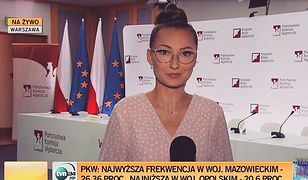 Agata Zamęcka zaczęła pracować w TVN24 BiS w 2015 r.