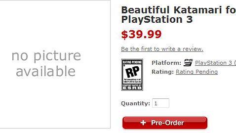 Beautiful Katamari również na PS3?