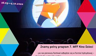 Znamy pełny program 7. MFF Kino Dzieci. Od dziś w sprzedaży bilety i zapisy na wydarzenia towarzyszące