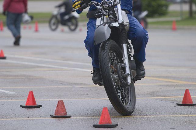 Kraków organizuje darmowe szkolenia dla motocyklistów.