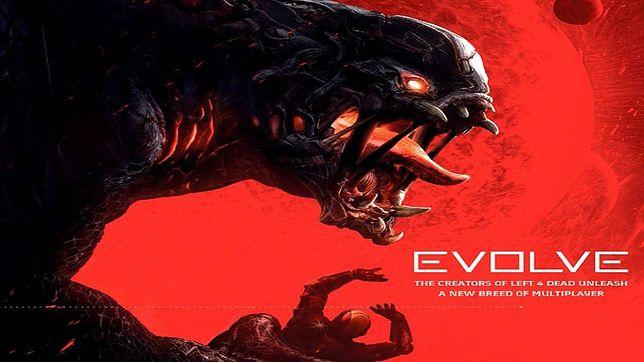Obcy z gry komputerowej Evolve