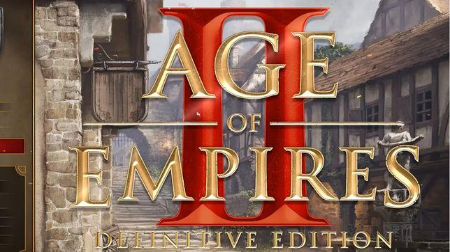 Age of Empires II: Definitive Edition - screen z logo