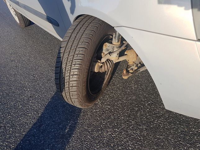 Samochód po odebraniu z warsztatu samochodowego