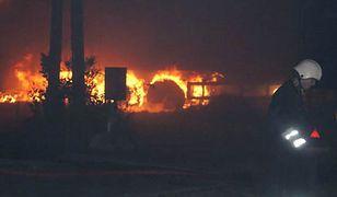 Wybuchło 190 butli z gazem; strażacy krzyczeli: uciekajcie!