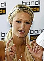 Kaprawe oko Paris Hilton
