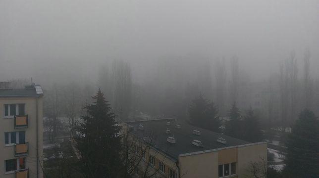Smog dusił Warszawę. Niczego nie było widać