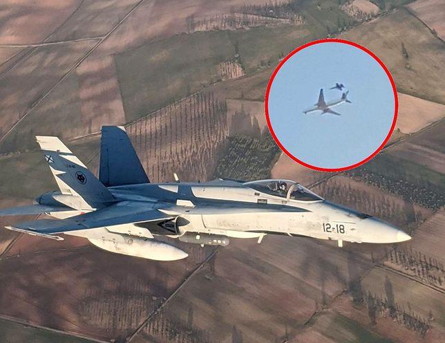 Awaria boeinga Air Canada. Do akcji włączyły się myśliwce F-18