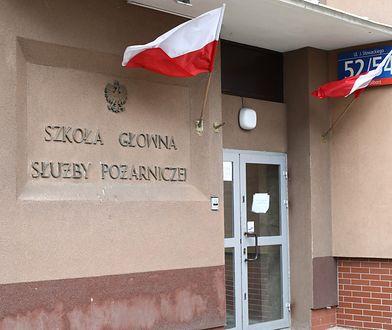 Koronawirus. Warszawa. Studenci SGSP przetrzymywani są w złych warunkach.
