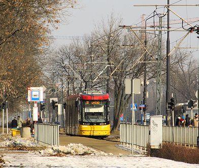 Warszawa. Śmiertelne potrącenie przez tramwaj w okolicy alei Lotników