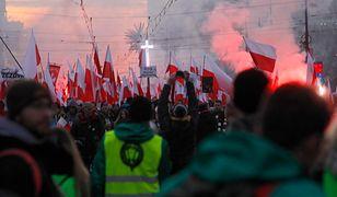 Przed Marszem Niepodległości zatrzymano kilkanaście osób