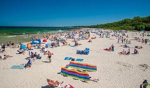 Upalny weekend większość Polaków spędzi na plażach