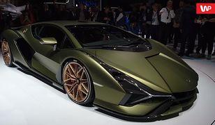 Frankfurt 2019: Lamborghini Sian, czyli ekstremalna hybryda
