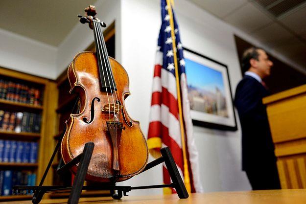 Stradivarius skradziony Romanowi Totenbergowi odzyskany po 35 latach