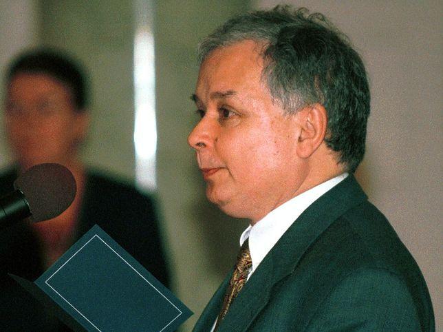 Lech Kaczyński nominację na ministra sprawiedliwości otrzymał w czerwcu 2000 r.