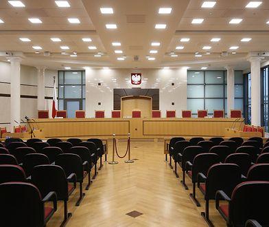 Sala rozpraw Trybunału Konstytucyjnego