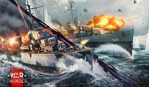 War Thunder zaoferuje nam również walki na wodzie.