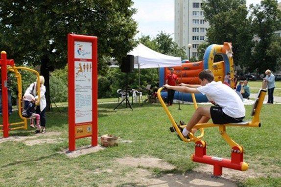 Mokotów w dobrej kondycji - mapa plenerowych siłowni