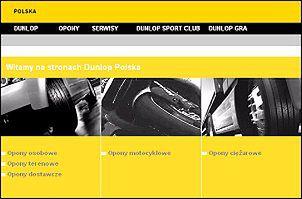 Nowy serwis internetowy Dunlopa