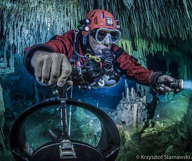 Kolumb XXI wieku. Polak odkrywcą najgłębszych podwodnych jaskiń na świecie