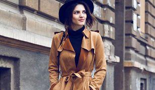 Elegancki płaszcz zastapi zimową kurtkę