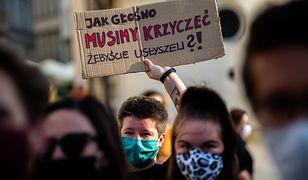 Konwencja Stambulska. Protest przeciwko planom wypowiedzenia dokumentu